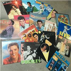 LOT OF 17 ELVIS RECORDS