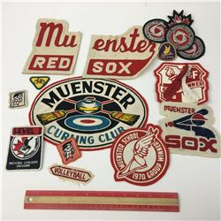 LOT OF VINTAGE SPORTS PATCHES