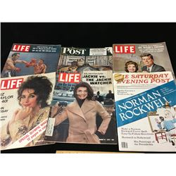 LOT OF VINTAGE MAGAZINES LIFE POST