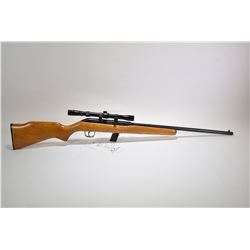 "Non-Restricted rifle Cooey model 64B, 22 LR ten shot semi automatic, w/ bbl length 21 1/4"" [Blued ba"