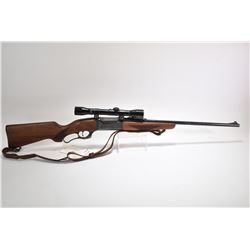 "Non-Restricted rifle Savage model 99F, 250-3000 Savage lever action, w/ bbl length 22"" [Blued barrel"