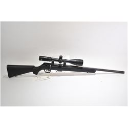 "Non-Restricted rifle Savage model 93R17, 17 HMR bolt action, w/ bbl length 21"" [Blued heavy barrel a"