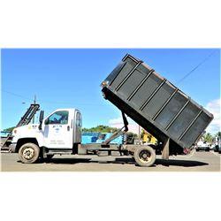 06 Chevy C5500 Dump Truck 92,523 Miles (Runs Drives Dumps See Video)
