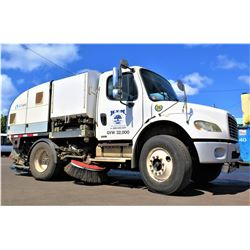 06 Freightliner Dual Steering M2 Street Sweeper (Runs Drives Sweeps Etc See Video)