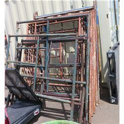 Scaffolding Uprights