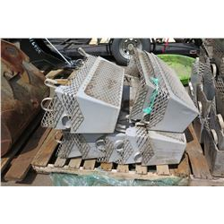Pallet of Sifting Buckets