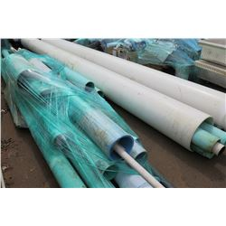 Large Lot of Misc. PVC Pipes