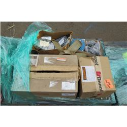Contents of Pallet: Depot D-Air Spring Assembly, Conveyor Air Valve, Directional Valve, etc