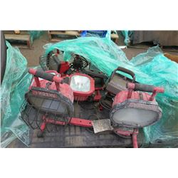 Contents of Pallet: Portable Utility Lighting