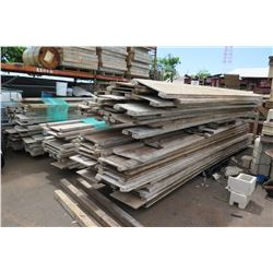 Large Lot of Concrete Forms