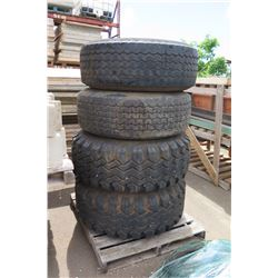Qty 4 Misc. Tires
