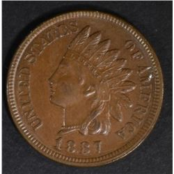 1887 INDIAN CENT CH BU
