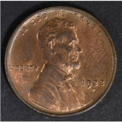 1922-D LINCOLN CENT CH BU RB