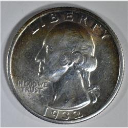 1932-S WASHINGTON QUARTER BU