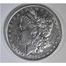 1878 7 TF MORGAN DOLLAR AU