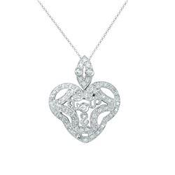0.45 CTW Diamond Necklace 14K White Gold