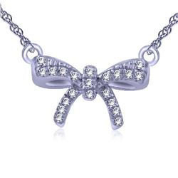 0.03 CTW Diamond Necklace 14K Yellow Gold