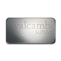 Genuine 1 kilo 0.999 Fine Silver Bar - Valcambi w/ Assay