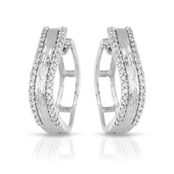 0.33 CTW Diamond Earrings 14K White Gold