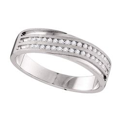 0.25 CTW Diamond Wedding Ring 10kt White Gold