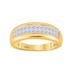 1 CTW Diamond Ring 14kt Yellow Gold