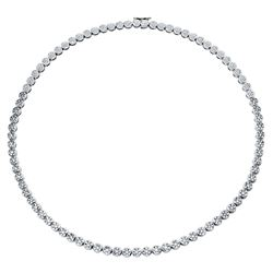 4.8 CTW Diamond Necklace 14K White Gold
