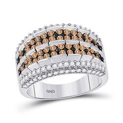 1.61 CTW Brown Diamond Ring 10kt White Gold