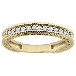 0.16 CTW Diamond Ring 14K Yellow Gold