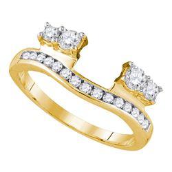 0.50 CTW Diamond Ring 14kt Yellow Gold