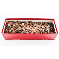 Box Lot - Canada 1 Cent Coins (Red box)