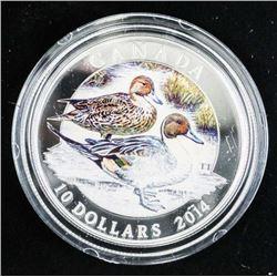 .9999 Fine Silver $10.00 Coin Pintail (IR)