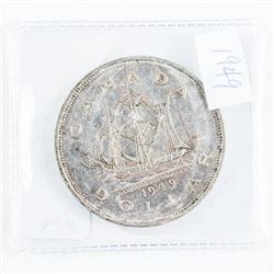 1949 Canada Silver Dollar EF (ER)