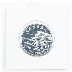 Canada 1875 - 2000 Silver 50 Cents