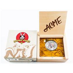 2015 .999 Fine Silver $20.00 Coin - Looney Tunes.