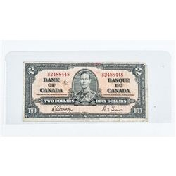 Bank of Canada 1937 2.00 G/T