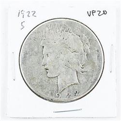 1923(S) USA Silver Peace Dollar EF40