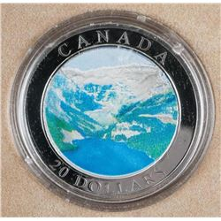 .9999 Fine Silver $20.00 Coin The Rockies