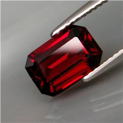 Natural Red Rhodolite Garnet 2.67 Ct