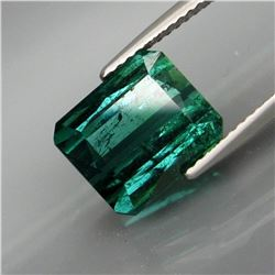 Natural Deep Blue/Green Tourmaline 5.13 Ct - Untreated