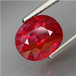 Natural Hot Pink UNHEATED Sapphire 3.32 Cts