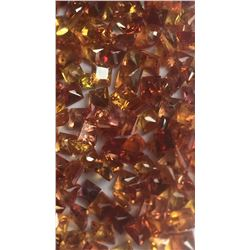 Natural Intense Orange/Red Sapphire 15 Cts -VVS