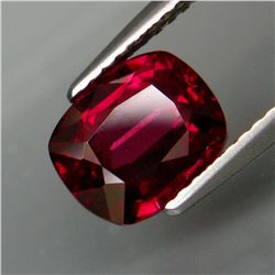 Natural Cherry Pink Rhodolite Garnet 3.01 Ct -Untreated