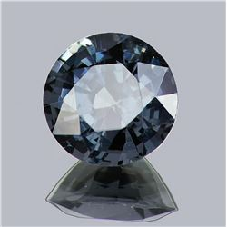 Natural  Grayish Blue Burma Spinel 2.50 Cts - Flawless