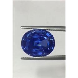 Natural Stunning Kashmir Sapphire 12 Carats - Untreated