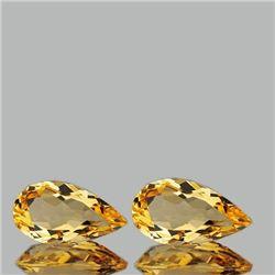 NATURAL GOLDEN ORANGE CITRINE 14x7 MM -FLAWLESS