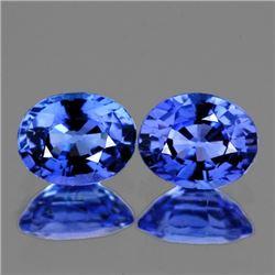 Natural AAA Ceylon Blue Sapphire Pair 5x4 MM - FL