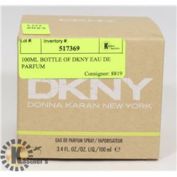 100ML BOTTLE OF DKNY EAU DE PARFUM