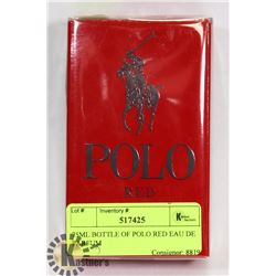 75ML BOTTLE OF POLO RED EAU DE PARFUM