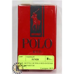 75ML BOTTLE OF POLO RED INTENSE EAU DE PARFUM