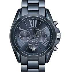 NEW MICHAEL KORS BRADSHAW TRIPLE CHRONO MSRP $365
